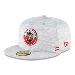 San Francisco 49ers Sideline Grey 59FIFTY Cap