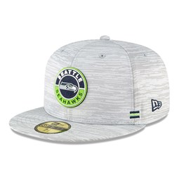 59FIFTY – Seattle Seahawks – Sideline – Kappe in Grau