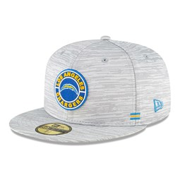 Los Angeles Chargers Sideline Grey 59FIFTY Cap