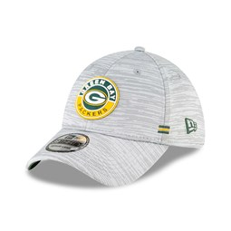 Casquette 39THIRTY Sideline des Packers de Green Bay, grise