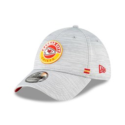 Casquette 39THIRTY Sideline des Chiefs de Kansas City, grise