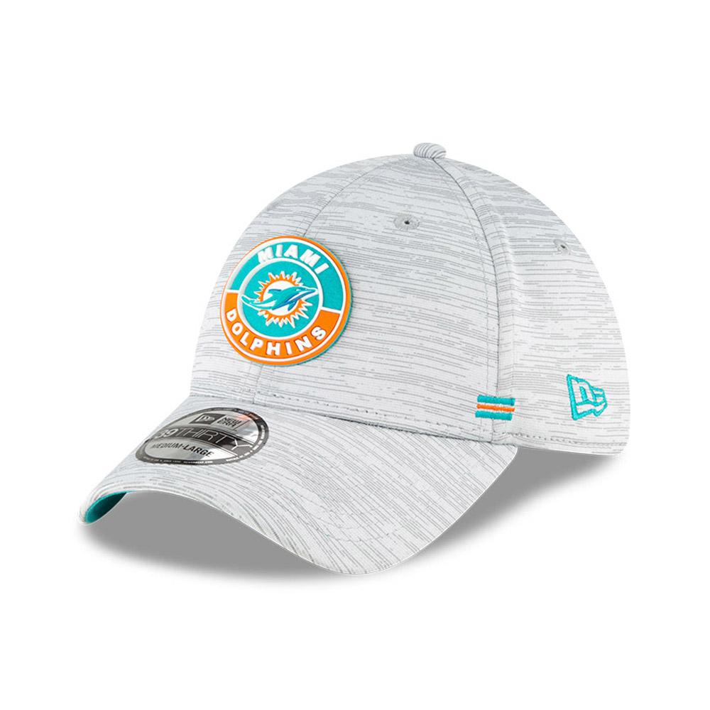 Cappellino Miami Dolphins Sideline 39THIRTY grigio